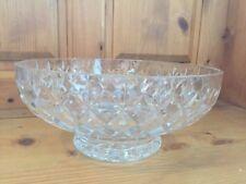 Bowl Clear Webb Corbett Crystal & Cut Glass