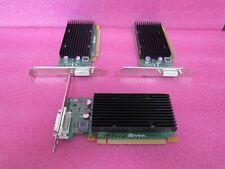 Lot of 3 NVIDIA QUADRO NVS 300 512MB GDDR3 PCI-E X1 VIDEO CARD
