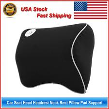 Car Home Seat Head Headrest Neck Rest Pillow Pad Support Memory Foam Cushion US