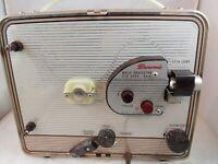 Vintage Kodak 8mm Brownie Movie Projector Portable Case Model 1 WORKS (R1)