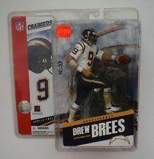 Drew Brees 2005 McFarlane NFL Series 12 Rookie Debut WHITE Jersey