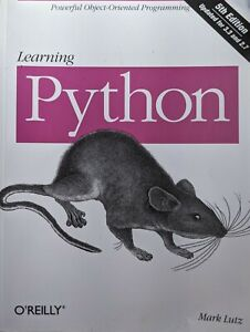 Python book learning Mark Lutz