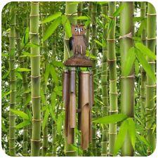 Windspiel Klangröhren Natur Wind Harfe Perfekt Garten Dekration Klangspiel