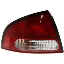 For Sentra 00-03, Driver Side Tail Light, Clear and Red Lens