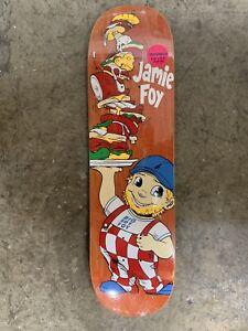 """8.25"""" Jamie Foy Big Boy Foy Deathwish Skateboard Deck"""