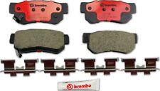 Disc Brake Pad Set-Premium NAO Ceramic OE Equivalent Pad Rear Brembo P30014N