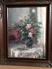 HUNGARIAN OIL PAINTING STILL LIFE BY NARAY