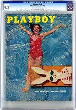 Playboy June 1956 | CGC 9.2 Near Mint - | Gloria Walker