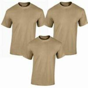 *NEW* USGI 3 Pack DSCP Moisture Wicking Lightweight Desert Sand