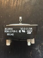 Range Acces OEM A406 A406 Whirlpool Stove Oven Range Wall Cap 6
