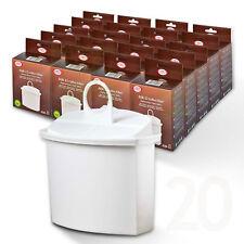 20x filtro acqua BRITA compatibile kwf2, per macchine caffè marrone