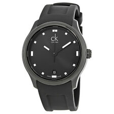 Calvin Klein Visible Black Dial Mens Watch K2V214D1