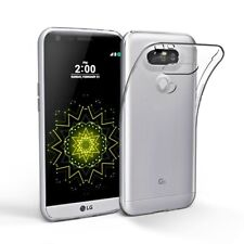 Soft Gel Clear Transparent Case Cover For LG G5 | LG G6 + Screen Protector