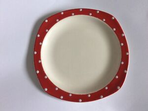Midwinter Stylecraft Red Domino Side Plate