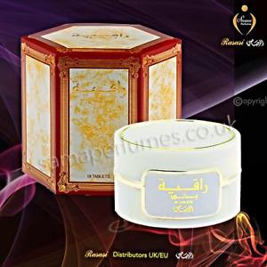 BAKHOOR RAQIYA 18 TABS INCENSE Official Dist- RASASI Perfumes UK