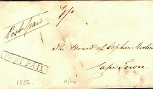 South Africa COGH Cover Cape Town *POST PAID* 1832{samwells-covers} SA.5