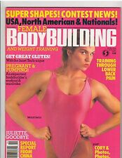 FEMALE BODYBUILDING muscle magazine MARJO SELIN/Cory Everson 3-90 #19