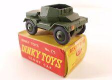 Dinky Toys GB n° 673 scout car militaire en boite