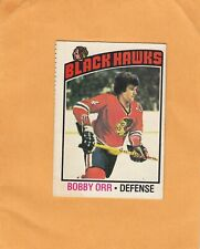 BOBBY ORR NO:213 in O PEE CHEE 1976-77  Ex cond+   LOT 88