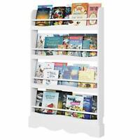 4 Tier Bookshelf Book Organizer Bookcase Book Storage Rack Toy Display Shelf