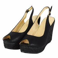 "Women's Wedge Very High Heel (greater than 4.5"") Clubwear Shoes"