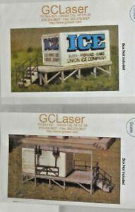N BULK ICE PLATFORM & DRY TRANSFER PLATFORM-GC LASER KITS 02363, 02362 NEW