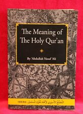 The Meaning of the Holy Qur'an - Abdullah Yusuf Ali  (Anglais)