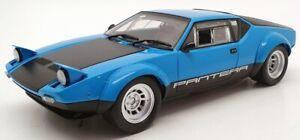 Kyosho 1/18 Scale Model Car 08853BL - 1975 De Tomaso Pantera GT4 - Blue/Black