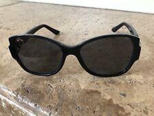 Cartier Women's eyeglass frames Black w gold Made in Italy