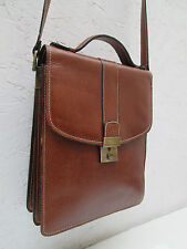 -AUTHENTIQUE sacoche LORENZO   cuir  (T)BEG vintage bag