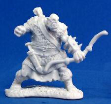 1x ORC ARCHER - BONES REAPER figurine miniature jdr warrior bow sniper arc 77056
