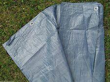 Plan de Tissu 5x8 M Bâche Recouvrement 40 ² PVC Revêtement avec Œillets