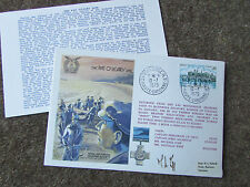 The PAT O'LEARY Line 1979  Hand Signed  RAF Escaping Society FDC - SEE PICTURES