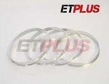 METAL Spigot Rings 66.6 - 65.1 fits Vauxhall Vectra Astra Zafira VW T5 GT BBS