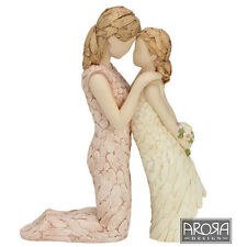More Than Words You`re The Best Figurine Gift Mother & Daughter NEW