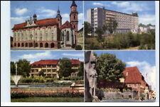 BAD WINDSHEIM 1968 Sanatorium Frankenland Franken Mehrbildkarte gelaufen