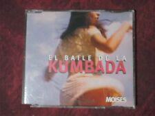 MOISES - EL BAILE DE LA KUMBADA (3 TRACKS). CD SINGLE.