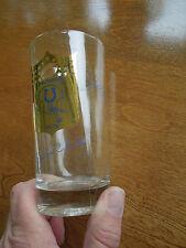 Rare Baltimore Colts Johnny Unitas Mackey Matte Signature Drinking Glass Old