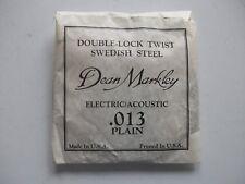 Dean Markley SWEDISH STEEL .013 PLAIN ELECTRIC/ACOUSTIC GUITAR STRING VINTAGE 90