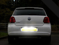 VW Polo 6R 09-14 Xenon Canbus Cool White LED Number Plate / License Light Bulbs