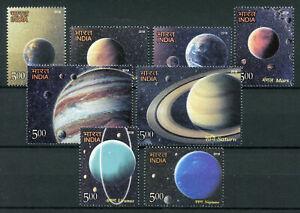 India 2018  Solar System Planets Mars Jupiter Saturn 8v Set Space Stamps MNH