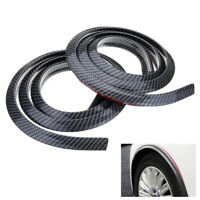 2x 1.5M Universal Rubber Car Wheel Arch Protection Moldings Mud Guard Door DIY