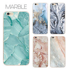 Marble Stone Granite Rock Thin Soft Case Skin Cover TPU For iPhone 5/6/7/8