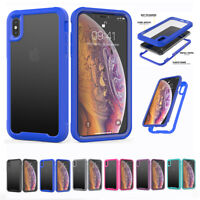 Heavy Duty Shockproof Clear Case Cover For iPhone 12 mini 11 Pro XS Max XR 678+