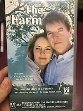 The Farm VHS tape (2000 Colin Friels ABC Australian mini series) * rare *