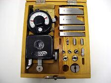 New listing Suhl Gear Tester Checker Modul m2-10 Mikrokator 0,001mm Tooth Eingriffsteilungs