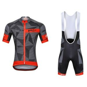 Outdoor Sports Short Sleeve Cycling Jersey Short Bid Sets Quicky Dry Clothes #51