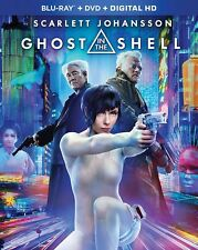 Ghost in the Shell (Blu-ray, 2017) Digital HD