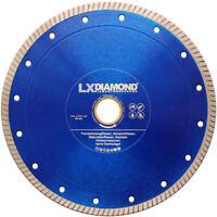 LXDIAMOND Diamant-Trennscheibe Fliesen 200mm x 25,4 Feinsteinzeug für GÖLZ TS200