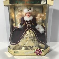 Vintage 1996 Happy Holidays Barbie Doll Special Edition 15646 Christmas Mattel